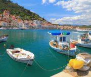 Gythio town in Greece