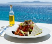 Kythnos Greece lunch Cyclades