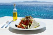 Kythnos Greece lunch Cyclades