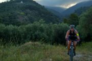 Evening cycling in Skopelos