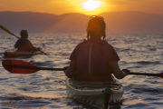 sunset Kayaking in Skopelos island